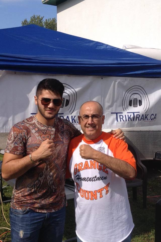 Erik Bazinyan and TrikTrak